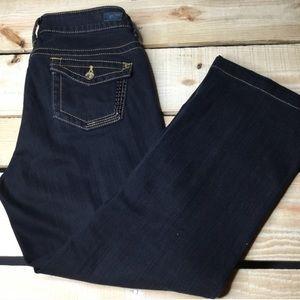 DKNY Boot Cut Dark Wash Jeans
